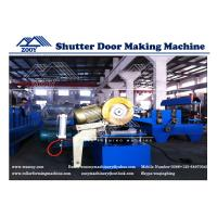 Wholesale 0.6-1.2mm Thickness Metal Shutter Door Roll Forming Machine 0.6-1.2MM Thickness from china suppliers