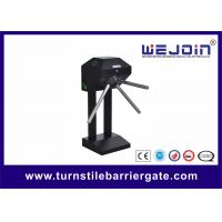 Wholesale Portable half height Turnstile security systems , pedestrian gate access control from china suppliers