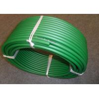 Wholesale 15mm diameter green color transmission Polyurethane Round Belt from china suppliers