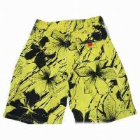 Wholesale Short Cropped Pants with Fashion Grid Men's Casual Pant from china suppliers