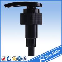 Wholesale 28/410 plastic lotion pump for liquid soap and shampoo bottles of ribbed lid from china suppliers