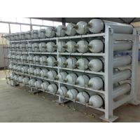 Buy cheap ISO11439 CNG Cascade with Compressed Natural Gas Stell Cylinder Storage System from wholesalers