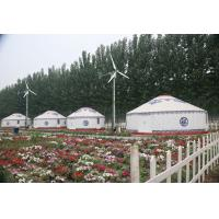 Wholesale Luxury Large Outdoor Mongolian Circular Tent Aluminum And Bamboo Frame Waterproof from china suppliers