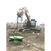 Buy cheap TYSIM KP400S construction site in UK , pile cropper for 250mm-400mm, high speed square pile cutter machine from wholesalers