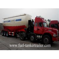 Wholesale 28-35CBM Steel Bulk Cement Tanker Trailers Used For Philippines Market from china suppliers