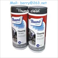 Buy cheap 25pcs Car cleaning wipes from wholesalers