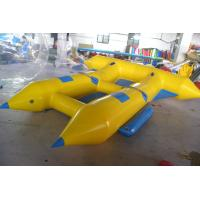 Wholesale Customize Inflatable Flying Fish Boat for 4 Rides Ocean Adventure Sport from china suppliers
