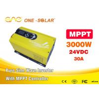 Wholesale OEM / ODM OFFER Rechargeable MPPT Solar Power Inverter 3000w Energy Saving from china suppliers