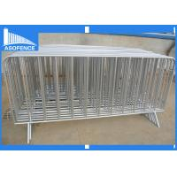 Wholesale Galvanized Crowd Control Barriers / Plastic Pedestrian Fencing Barriers from china suppliers