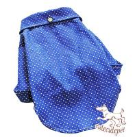 Quality Blue spot dog shirt, 5 sizes, new style in 2013 for sale