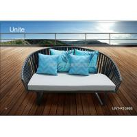 Wholesale Moden Rattan Sunbed Outdoor Furniture Patio Wicker Daybed For Beach / Poolside from china suppliers