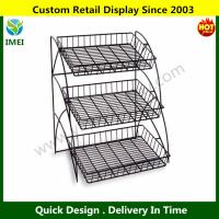 Wholesale 3-Tiered Wire Shelving Display Rack  YM6-027 from china suppliers