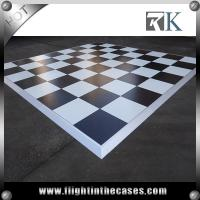 Wholesale Wooden black and white dance floor portable dance floor prices vinyl dance floor from china suppliers