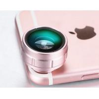 Quality 180 Degree Clip On Phone Camera Lens , Detachable Lens For Mobile Phone for sale