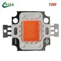 Wholesale 10w led grow light chip cob full spectrum 380-840nm DIY led grow light chip for growth a from china suppliers