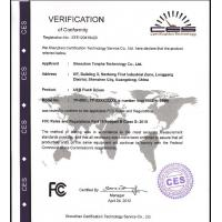 Tonpha International Co., Limited Certifications