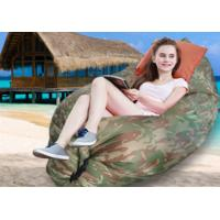 Wholesale Fast Inflatable  Lounger Air Camping Sofa  Beach Lazy Chair Only Need Ten Seconds Sleeping Bag from china suppliers
