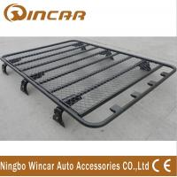 Quality No Frame Cargo Carrier Black Roof Rack Basket Luggage Rack Aluminum Or Steel Material for sale