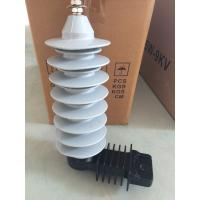 Wholesale 10KA 27kv  Polymer Lightning Arrester Used In Substation Without Gaps from china suppliers