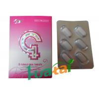Wholesale Natural Herbal Sex G Female Oral Tablets For Women Enhancement Sexual Proformance from china suppliers
