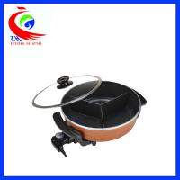Wholesale Non Stick Snack Making Machine Multifunction Electric Boiler Hot Pot Cooker from china suppliers