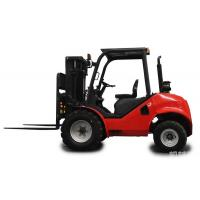 Wholesale 3.0Ton diesel power forklift truck rough terrain forklift truck with strong power from china suppliers