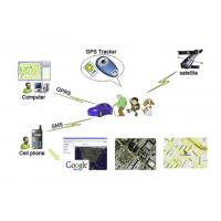 Wholesale Portable Personal GPS Trackers by SMS / GPRS with Geo Fence , SOS , Over Speed Alert from china suppliers