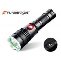 Wholesale 5 Modes Outdoor CREE T6 LED Torch, 10W Rechargeable LED Tactical Flashlight from china suppliers