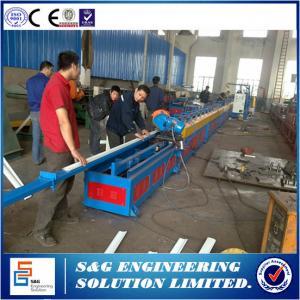 Quality 30m / Min Foam Rolling Shutter Forming Machine Gear Box Drive Type for sale