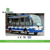 Buy cheap 11 Seater Electric Shuttle Car With Curtis Controller For Hotel Reception 72V / 5KW from wholesalers