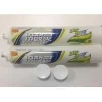 Wholesale Transparent Plastic Barrier Laminated Desensitizing Toothpaste Tube / Plastic Squeeze Tubes from china suppliers