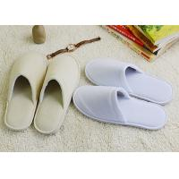 Wholesale Nice Pattern Washable House Slippers For Guests Dense Velvet Material from china suppliers
