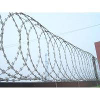 Quality Building / Yard Security Barbed Wire Fencing Sun Resistant Neat Appearance for sale