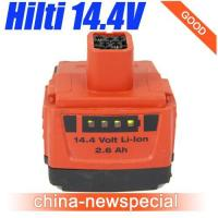 Wholesale HILTI 14.4V 2.6Ah Lithiu-Ion B144/2.6 LI-ION Battery used Good Price! from china suppliers