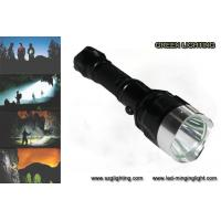 Wholesale IP67 10W Rechargeable Torch Light , 25000 Lux 1200 High Lumen Flashlight from china suppliers