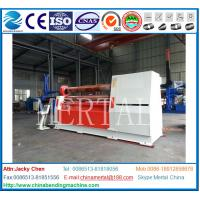 Wholesale HOT! MCLW11H-12*3000Lower roller arc down adjustable plate rolling machine,bending machine from china suppliers