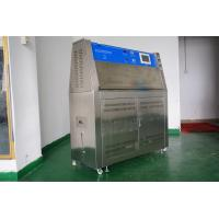 Wholesale UV Accelerated Weathering Tester , Touch Screen Type Rubber UV Aging Test Chamber from china suppliers