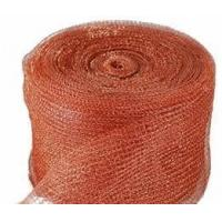 Wholesale High Effectiveness Copper Knitted Wire Mesh/ 0.6m-2.0m Width/Red and Yellow from china suppliers