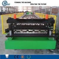 Wholesale House Roof Panel Roll Forming Machine , Aluminium Roofing Sheet Making Machine from china suppliers