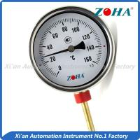 Wholesale High Accuracy Bimetal Dial Thermometer With Stainless Steel Connector from china suppliers