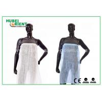 Wholesale One Time Use Disposable Kimono Robe Spa Skirt / Bath Cloth for beauty salon from china suppliers