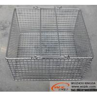 Buy cheap Stainless steel baskets from wholesalers