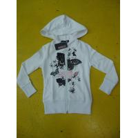 Buy cheap Personalized Fench Terry Ladies Zip Up Hoodies Girls Zip Front Hoodie Casual Wear from wholesalers