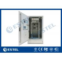 "China IP65 19"" Heat Insulation Outdoor Telecom Cabinet With DC48V Cooling System For Base Station on sale"