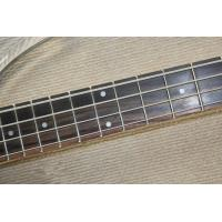 Quality Custom 4 string crystal electric bass transparent acrylic Body  Three Colors of LED Light  Available for sale