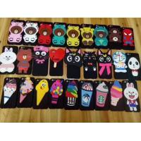 Wholesale 3D Lovely Cute Cartoon Soft Silicone Back Cover Cell Phone Cases 85g Customized Logo from china suppliers