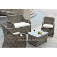 Wholesale Outdoor / Indoor Rattan Wicker Furniture Chairs And Tables 4 Piece UV Resistance from china suppliers