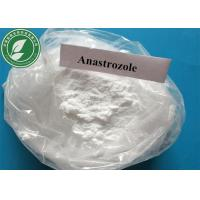 Wholesale 120511-73-1 Natural Anti Estrogen White Powder Arimidex Anastrozole for anti cancer from china suppliers