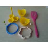 Wholesale Food Grade Eco Silicone Baking Set / Silicone Kitchen Tools Set For Kids from china suppliers