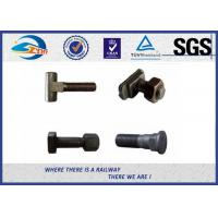 Wholesale Railroad Fastener Qualified Railway Bolt  with washer / heavy square nuts from china suppliers